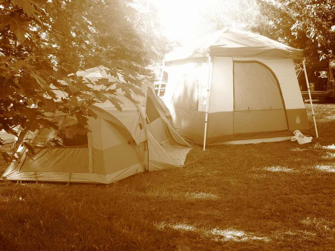 Camping en fin septembre